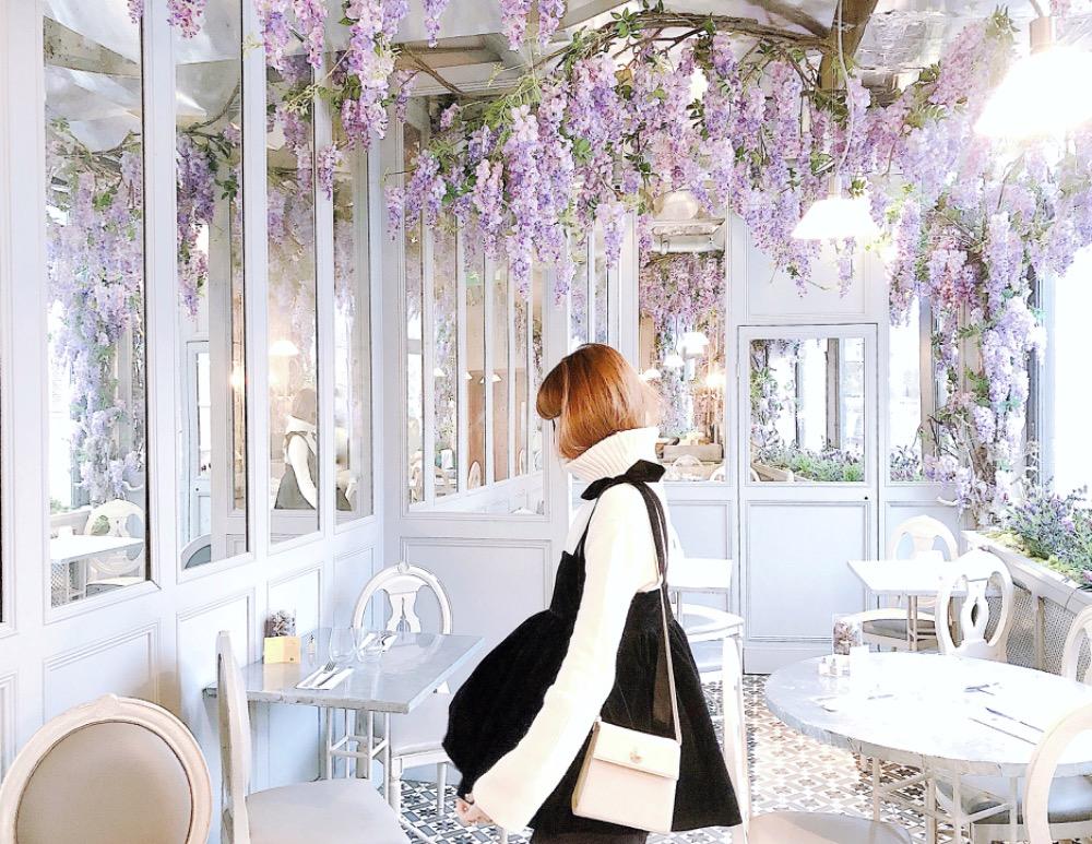 """""""イギリス・ロンドン""""でお花に溢れた可愛いCafeやRestaurant巡りの旅♡"""