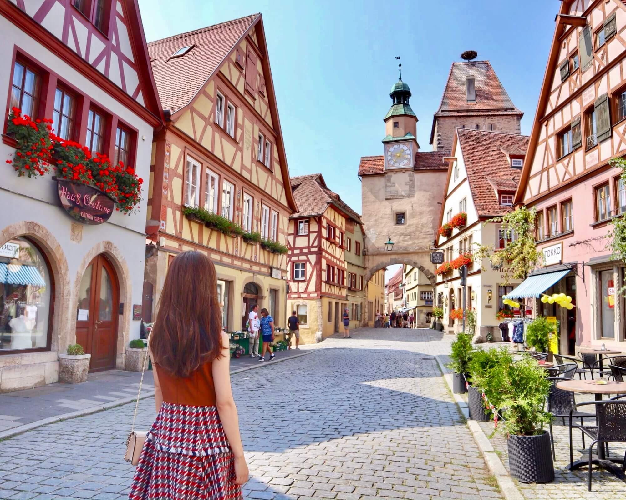絵本の世界に飛び込んだようなドイツ【ロマンチック街道】を巡る旅♡