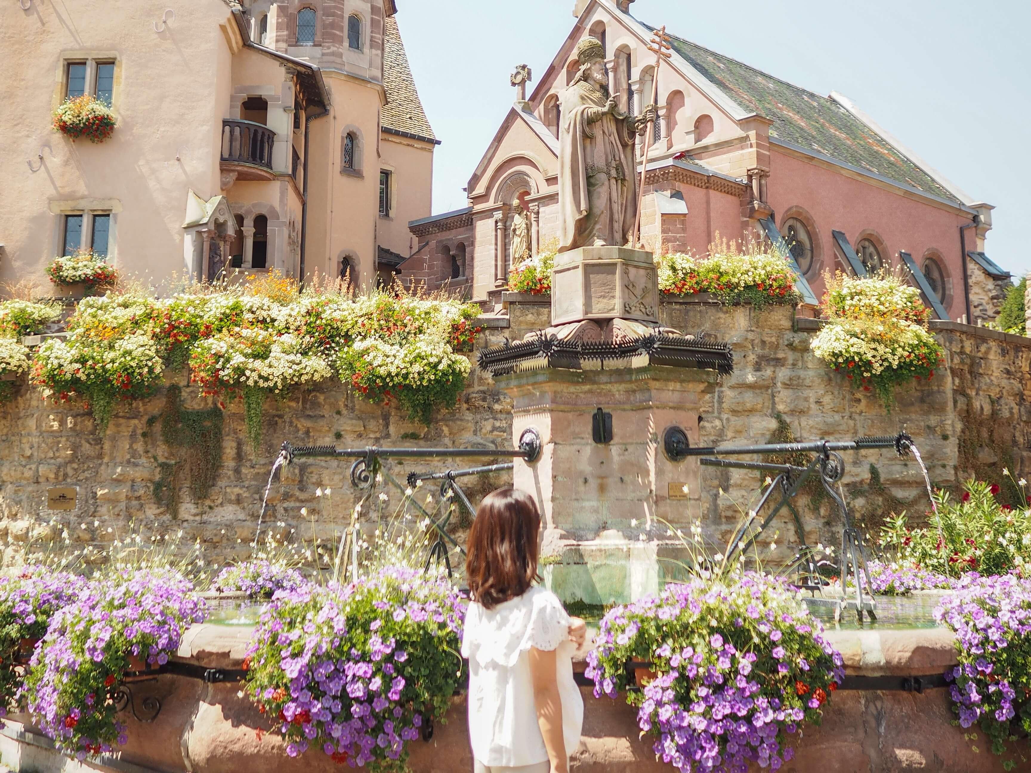 コルマール&「フランスの美しい村」をアルザス料理と巡る旅